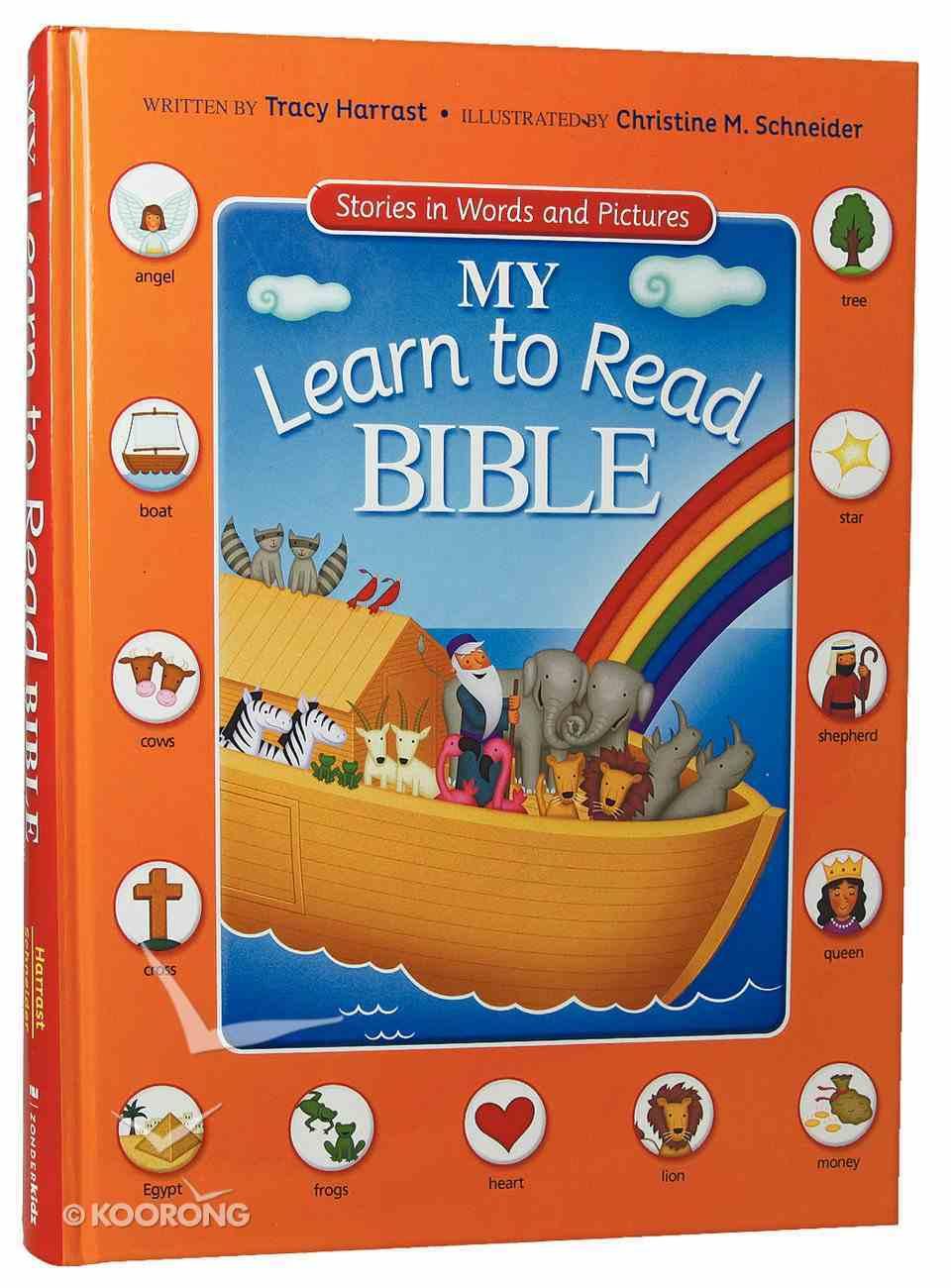My Learn to Read Bible Hardback
