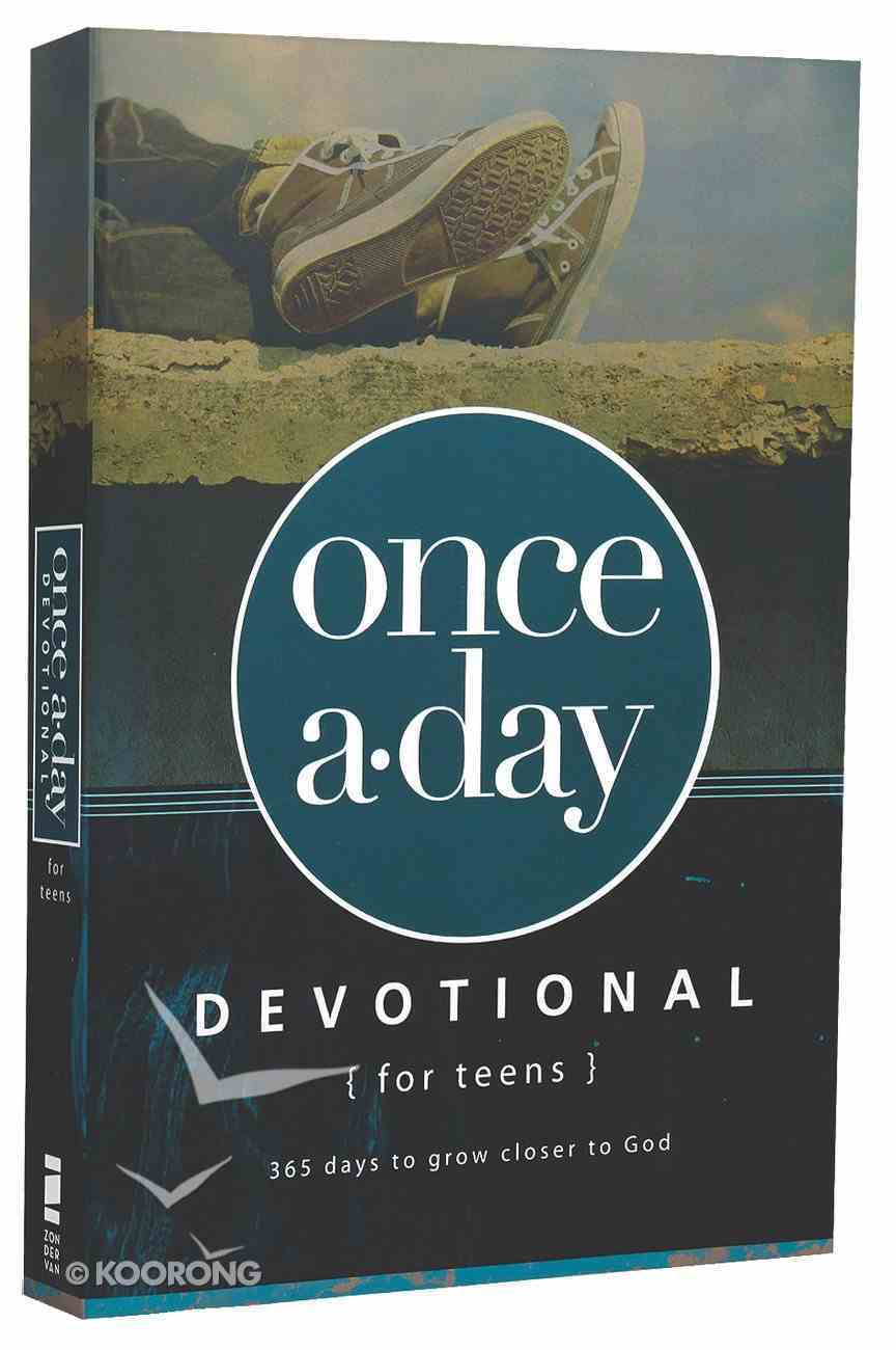 Once-A-Day Devotional For Teens Paperback