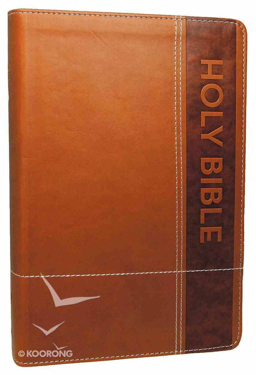 NIRV Gift Bible Brown Imitation Leather