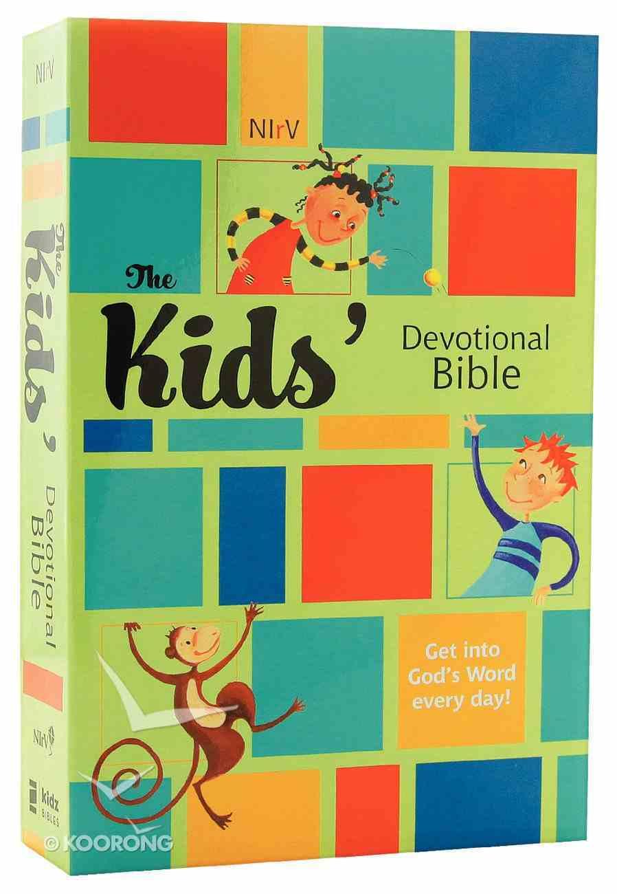 NIRV Kids' Devotional Bible Paperback