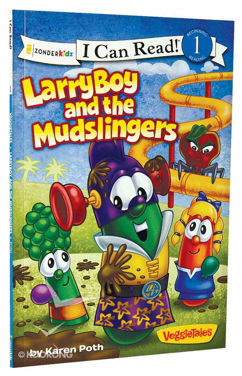 Larryboy and the Mudslingers (I Can Read!1/veggietales Series) Paperback
