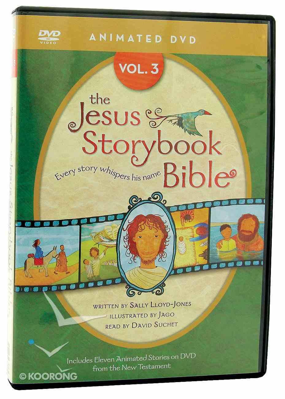 Jesus Storybook Animated Bible Volume 3 DVD