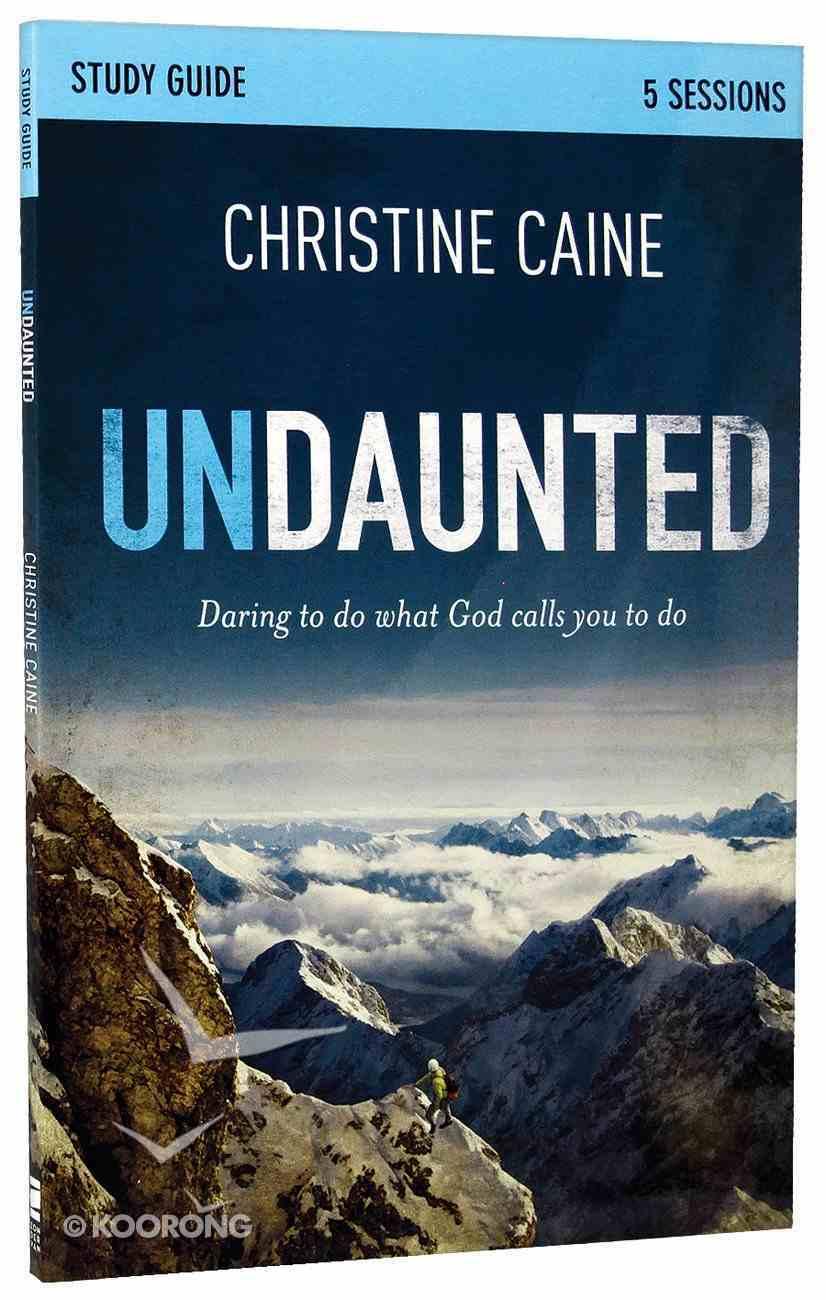 Undaunted (Participant's Guide) Paperback