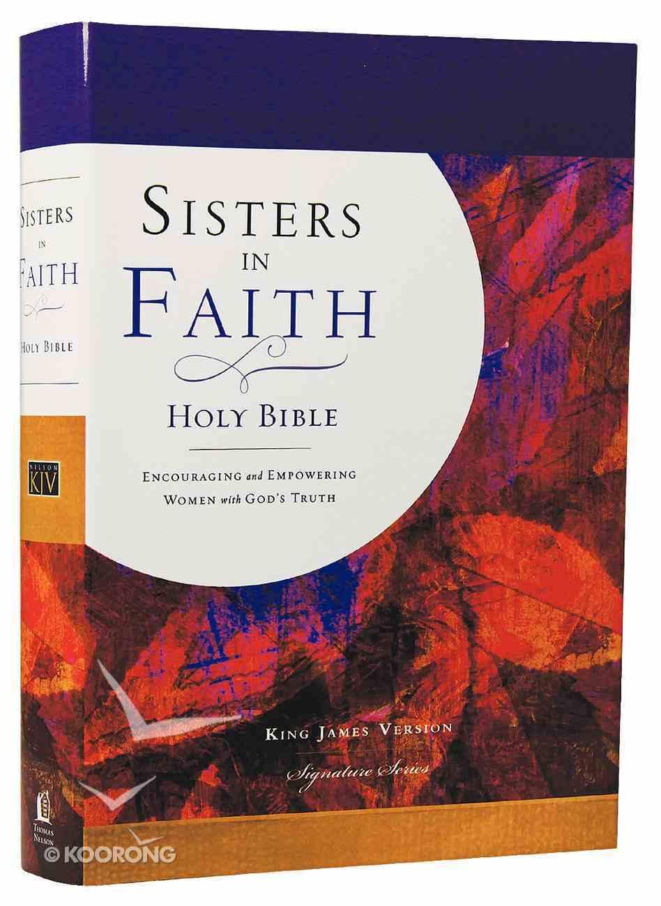 KJV Sisters in Faith Bible Hardback