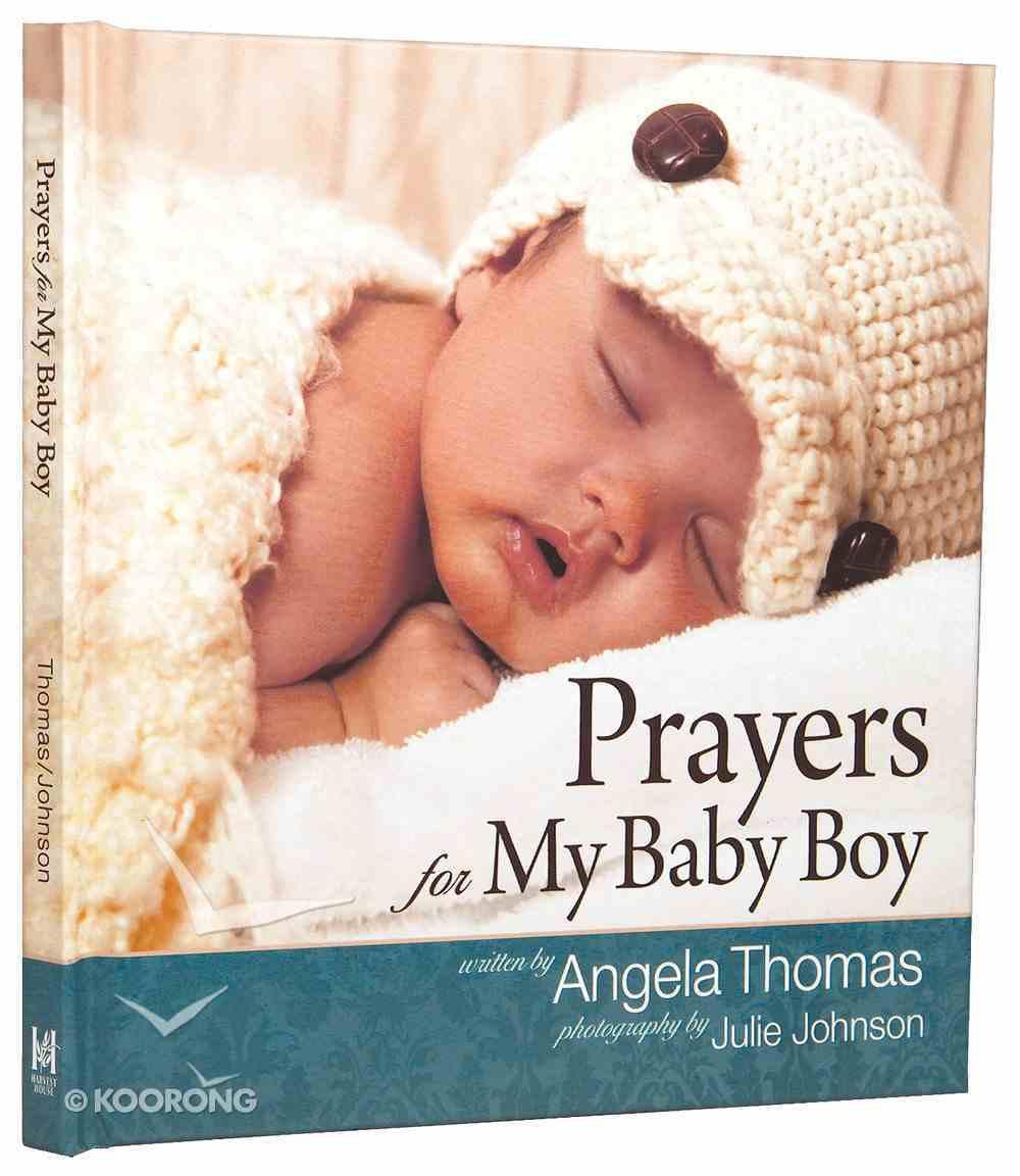Prayers For My Baby Boy Hardback