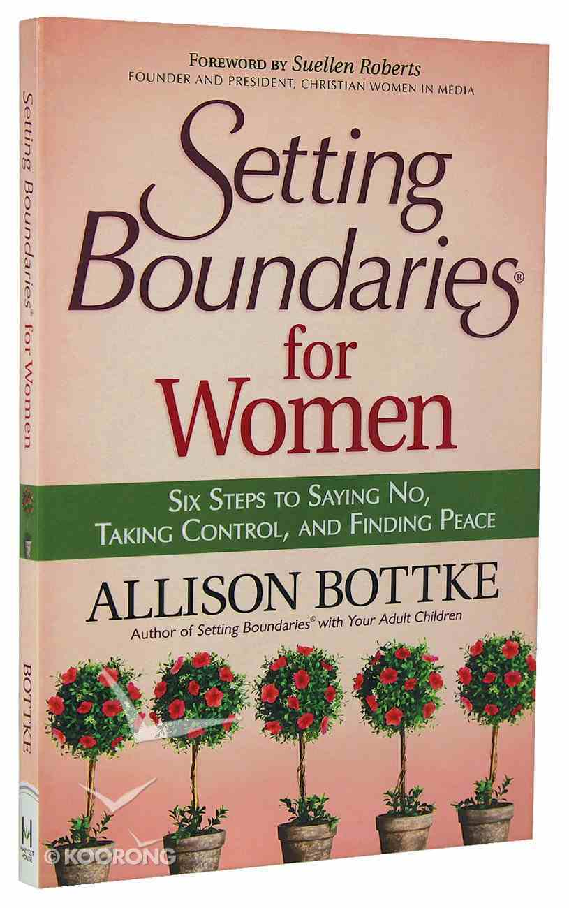 Setting Boundaries For Women Paperback