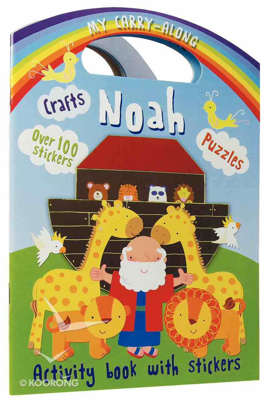 My Carry Along Noah Sticker Activity Book Paperback
