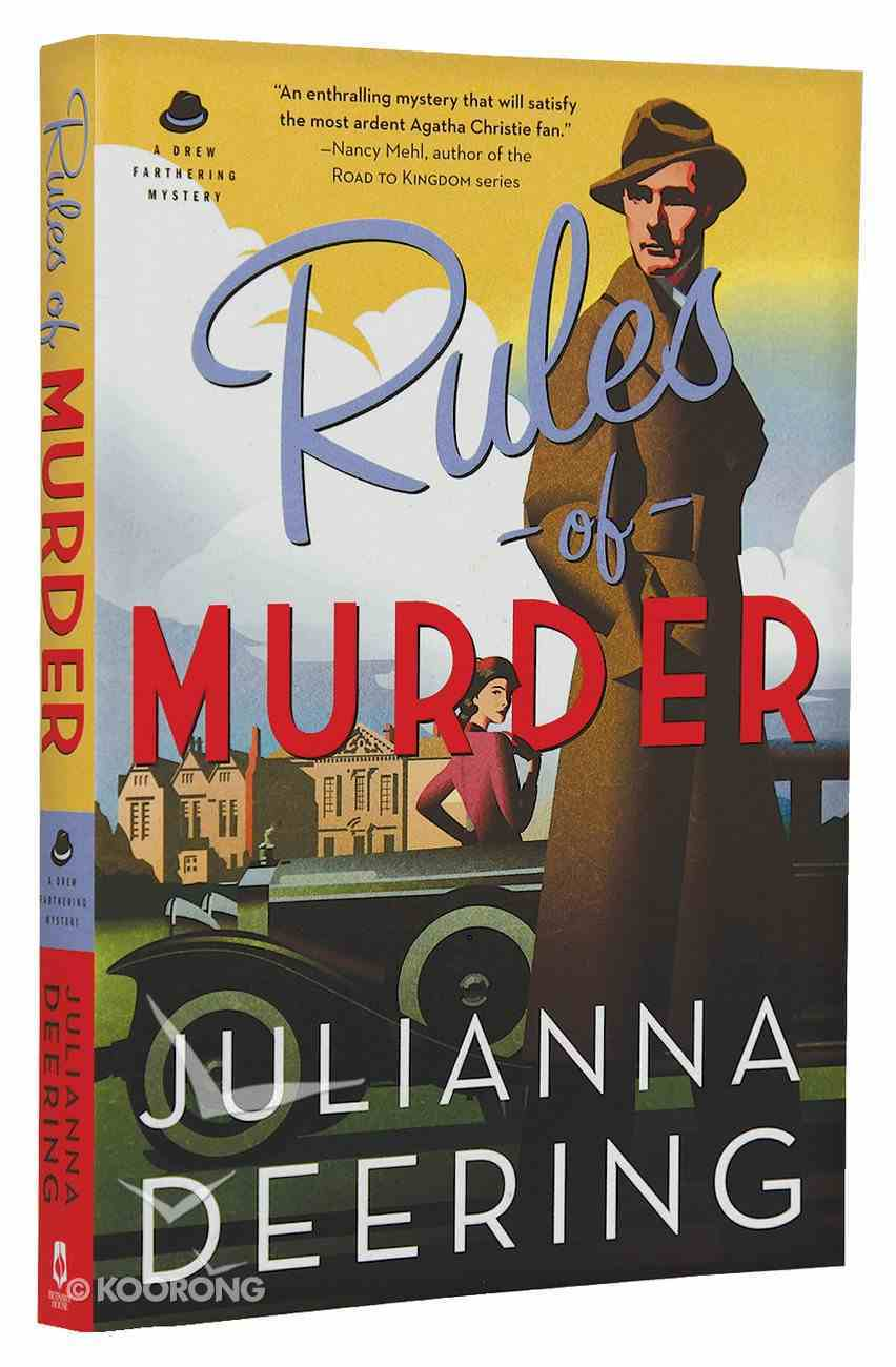 Rules of Murder (#01 in Drew Farthering Mystery Series) Paperback