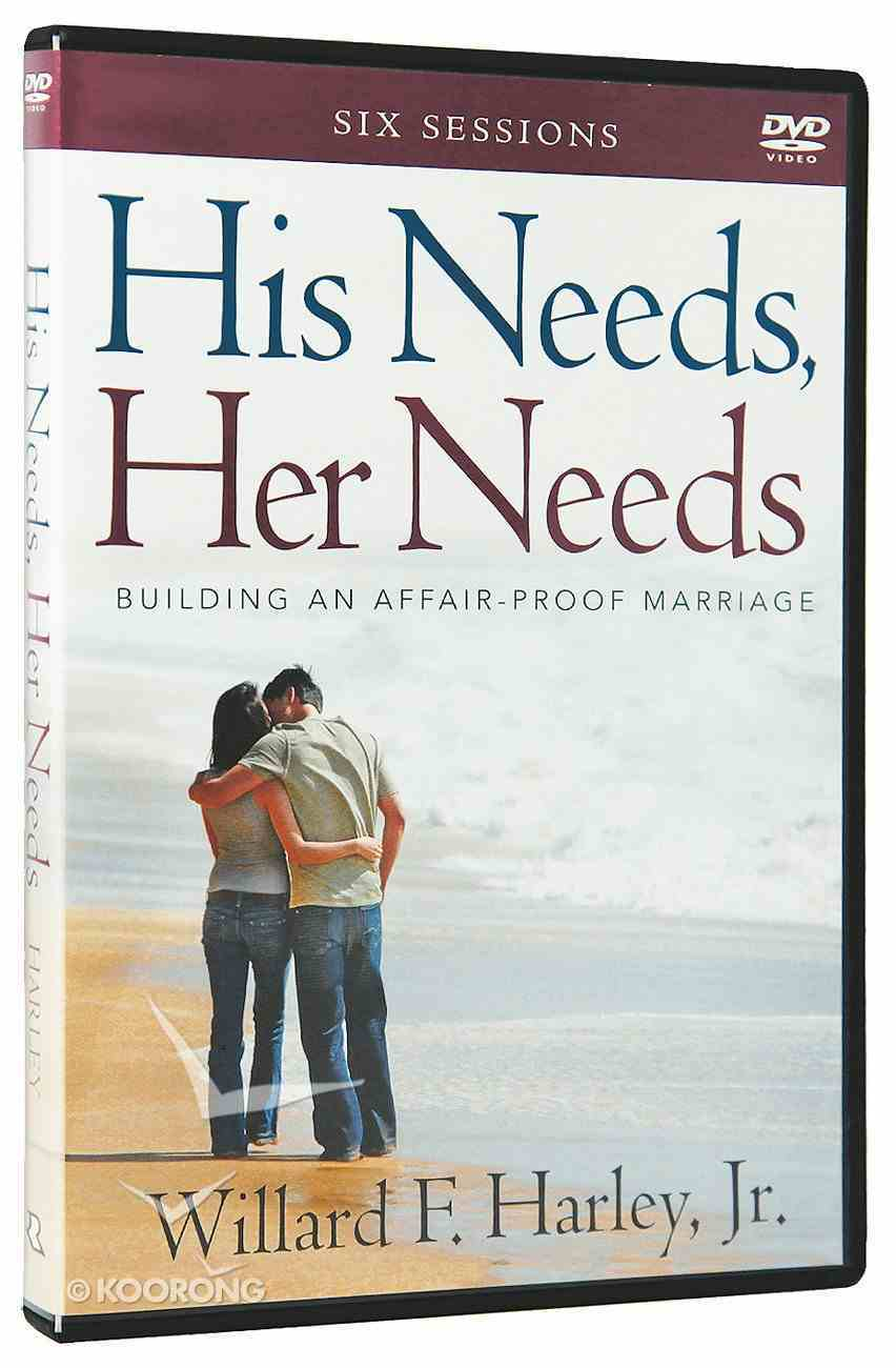 His Needs, Her Needs: Building An Affair-Proof Marriage (A Six-Sessions Study) (Dvd) DVD