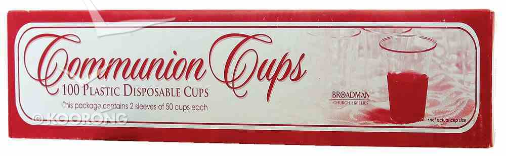 Communion Cups Disposable Recyclable (Box Of 100) Church Supplies