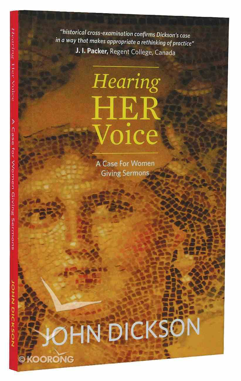 Hearing Her Voice Paperback