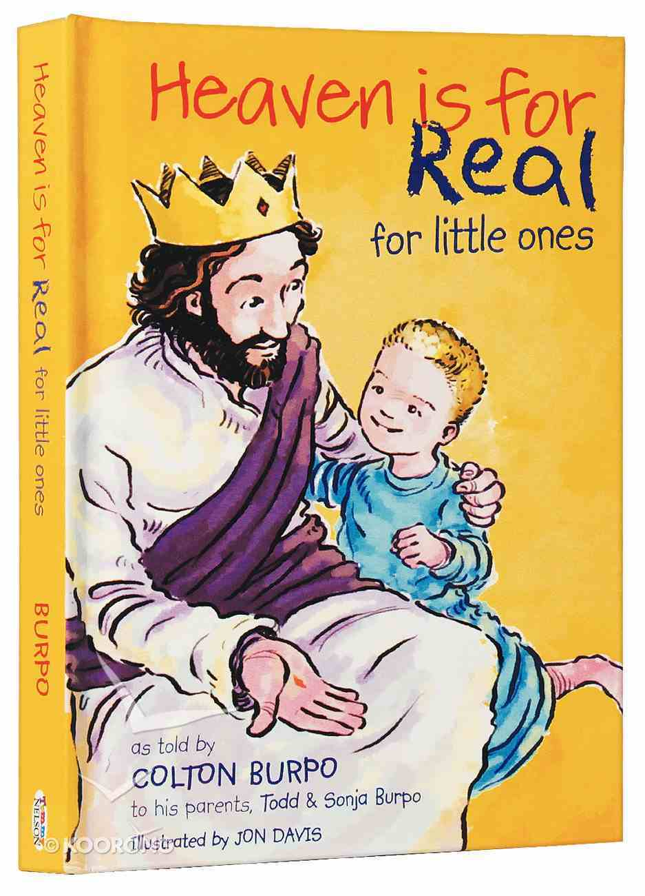 Heaven is For Real For Little Ones Board Book
