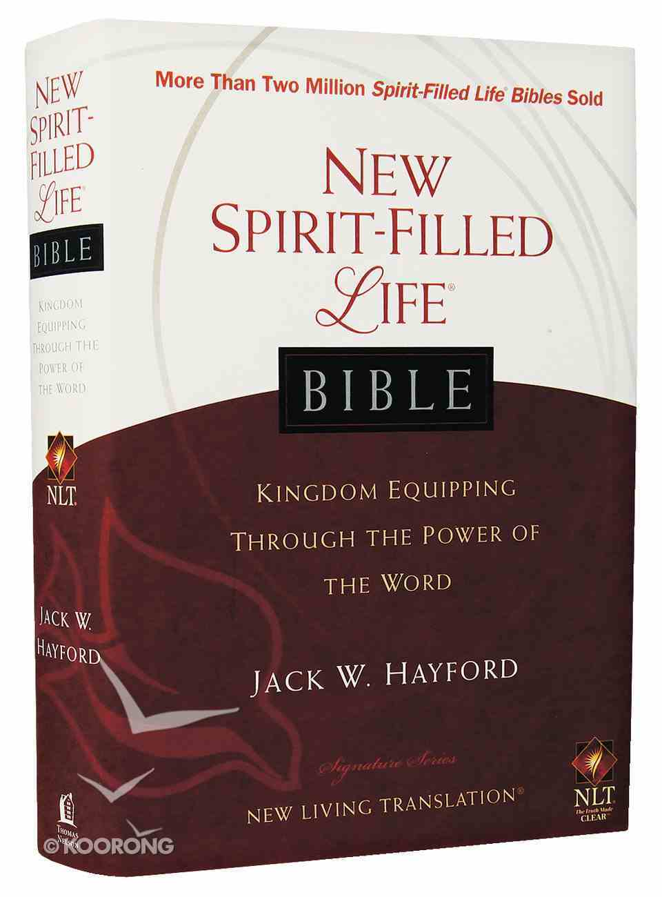 NLT New Spirit-Filled Life Bible Hardback