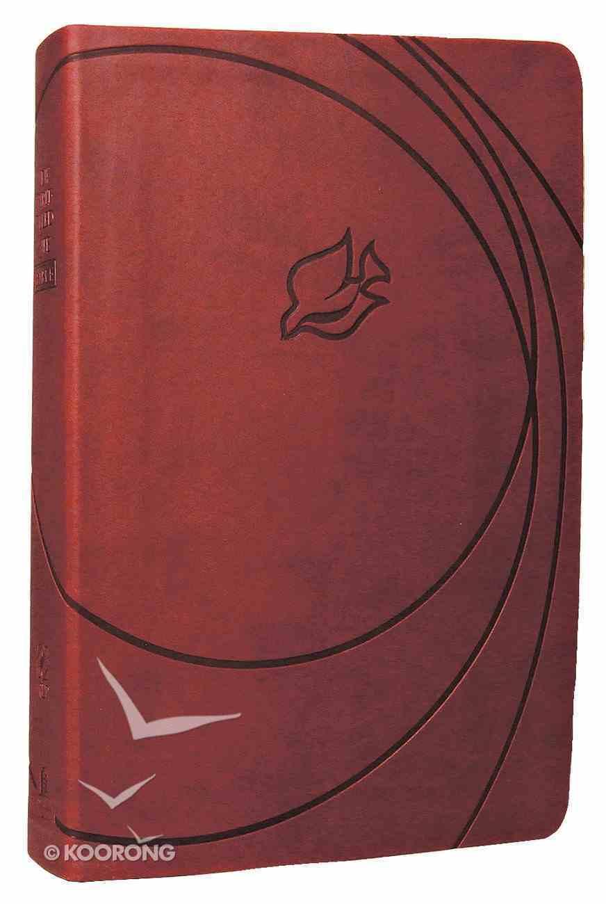 NLT New Spirit-Filled Life Bible Brick Red Premium Imitation Leather