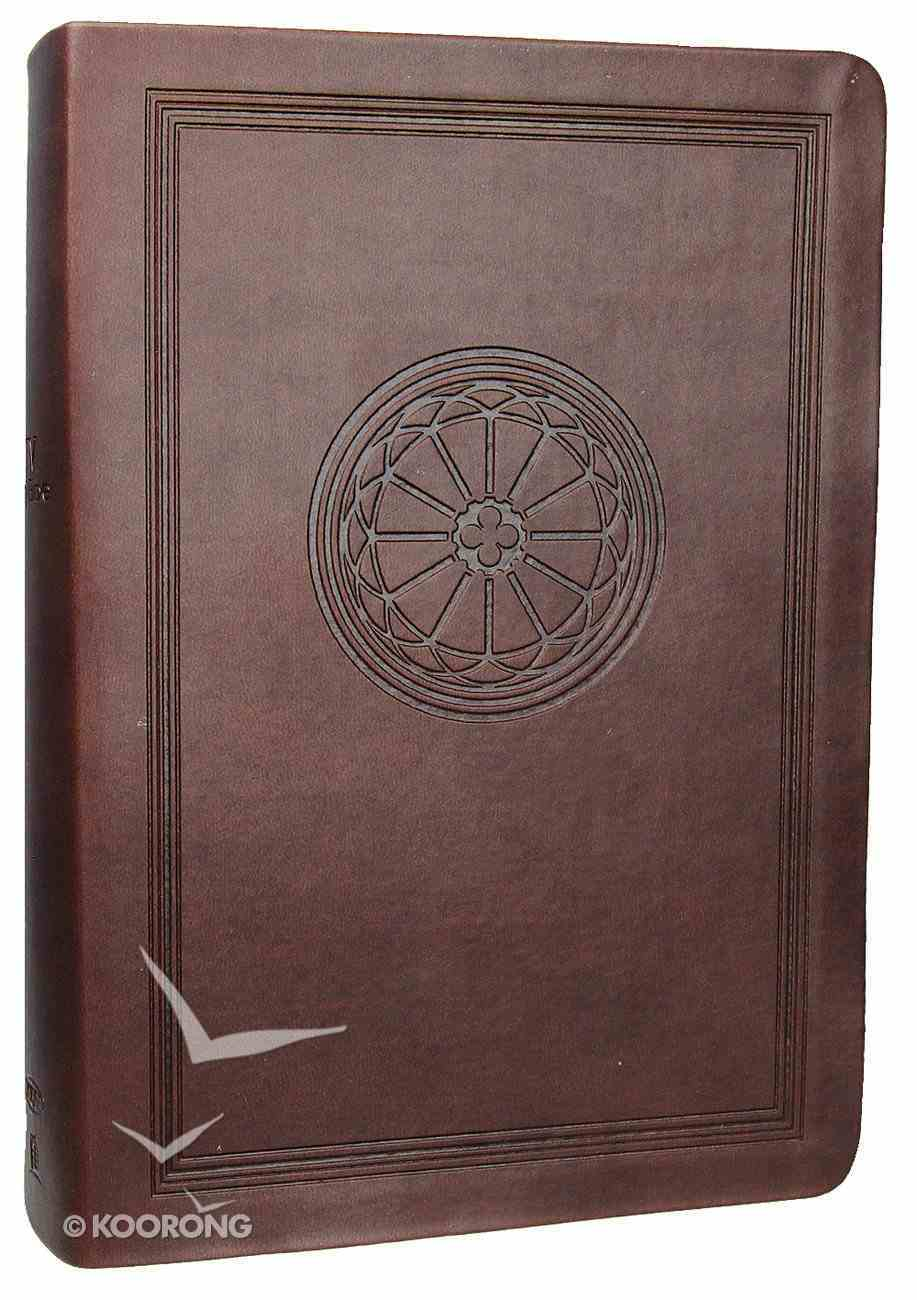 NKJV Study Bible Dark Chocolate (2nd Edition) Premium Imitation Leather