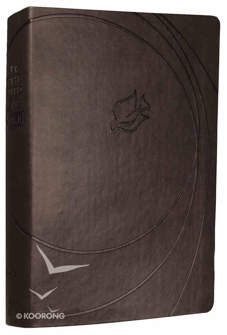 NKJV New Spirit-Filled Life Bible Charcoal Premium Imitation Leather