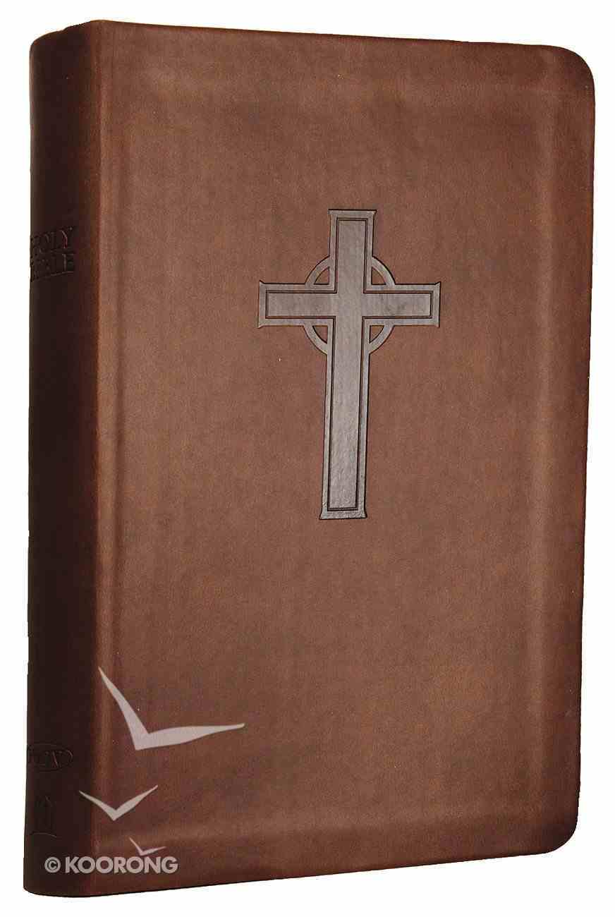 NKJV Personal Giant Print Reference Bible Dark Chocolate (Red Letter Edition) (Essentials) Imitation Leather