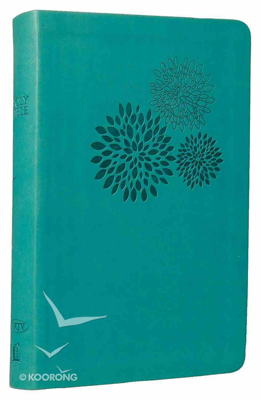 NKJV Personal Giant Print Reference Bible Turquoise (Essentials) Imitation Leather