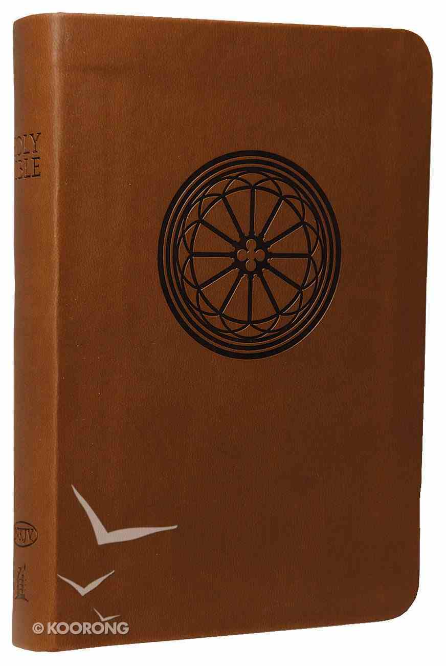 NKJV Compact Large Print Reference Bible Hazelnut (Essentials) Imitation Leather