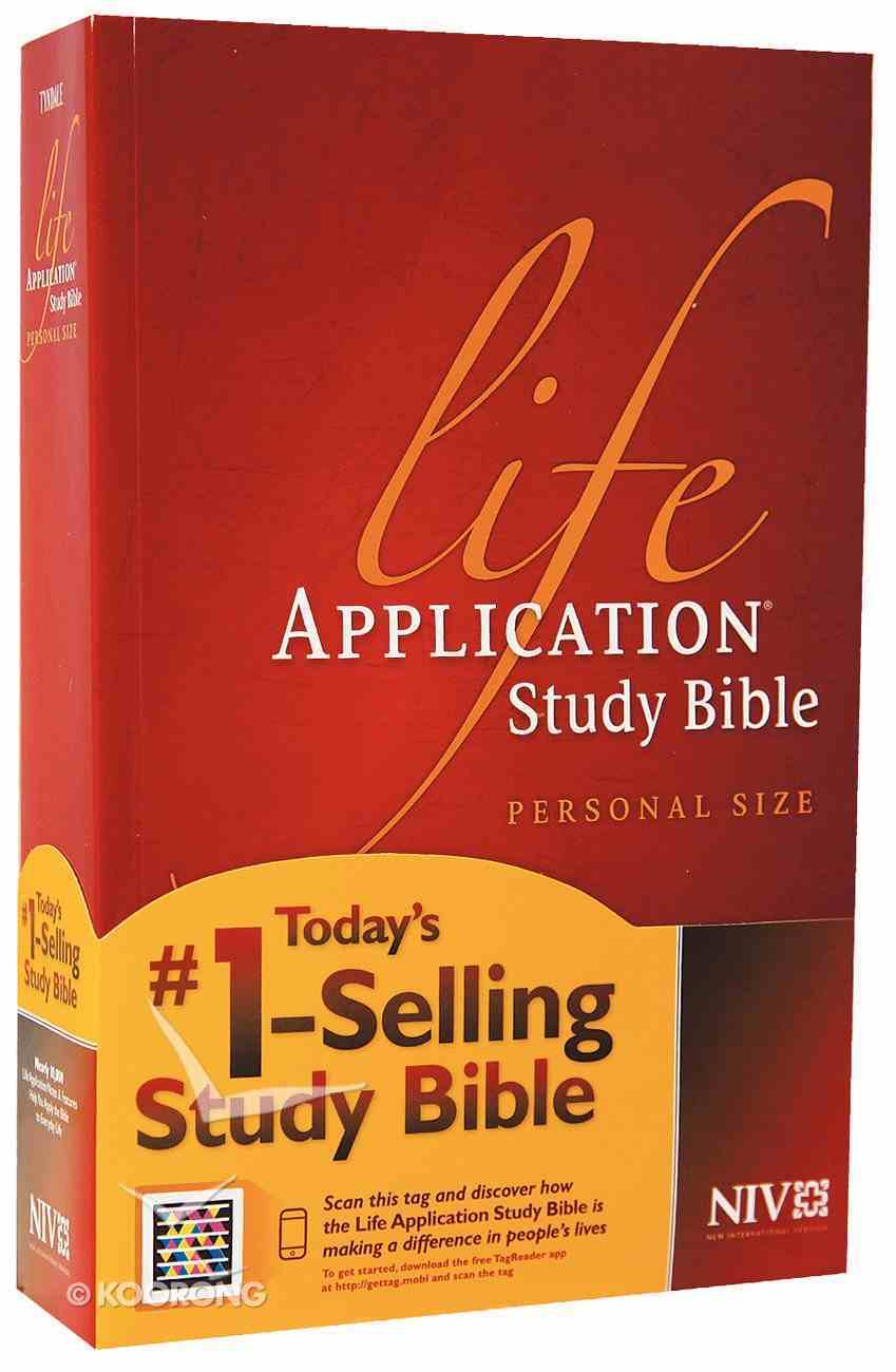 NIV Life Application Study Bible Personal Size (Black Letter Edition) Paperback