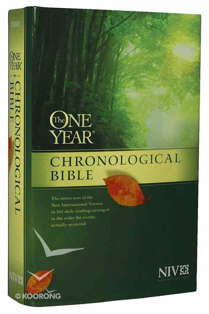 NIV One Year Chronological Bible Hardback