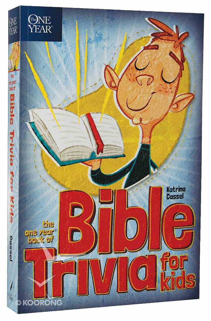 The One Year Book of Bible Trivia For Kids Paperback