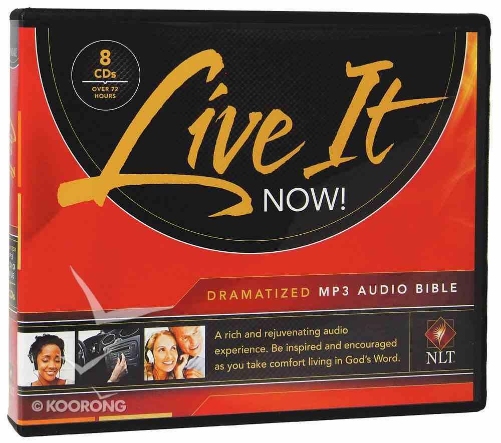 NLT Live It Now! Complete Dramatized Audio Bible (8 Mp3 Cds) CD