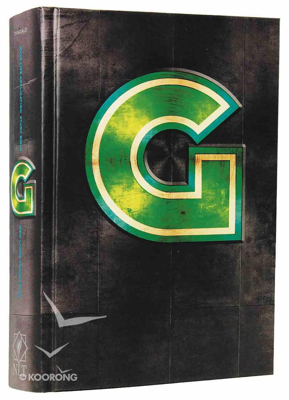 NLT Guys Life Application Study Bible (Black Letter Edition) Hardback