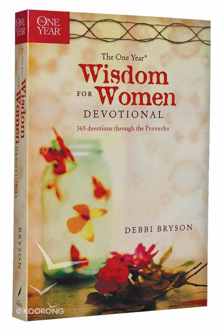 The One Year Wisdom For Women Devotional Paperback
