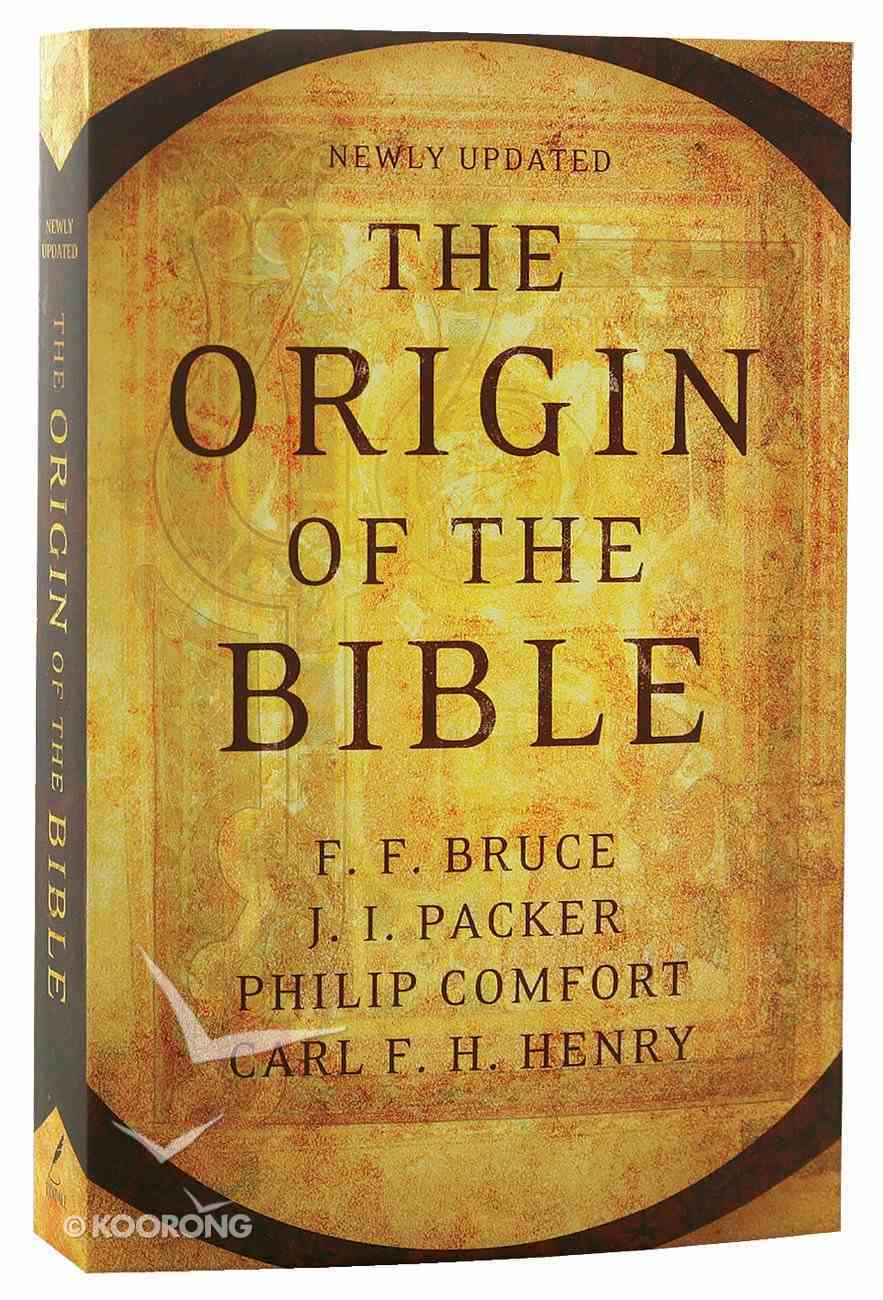 The Origin of the Bible Paperback