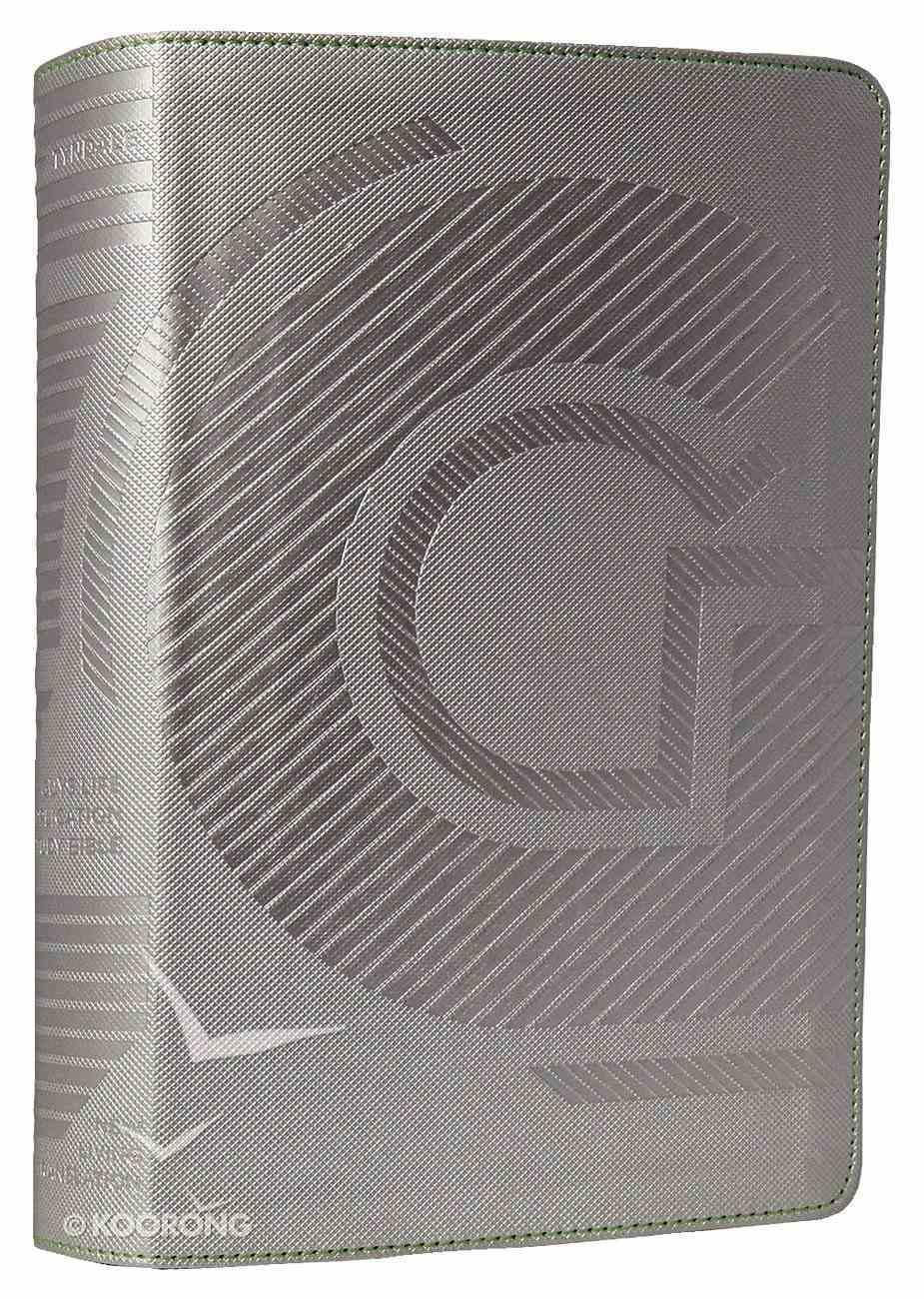 NLT Guys Life Application Study Bible Iridium (Black Letter Edition) Imitation Leather