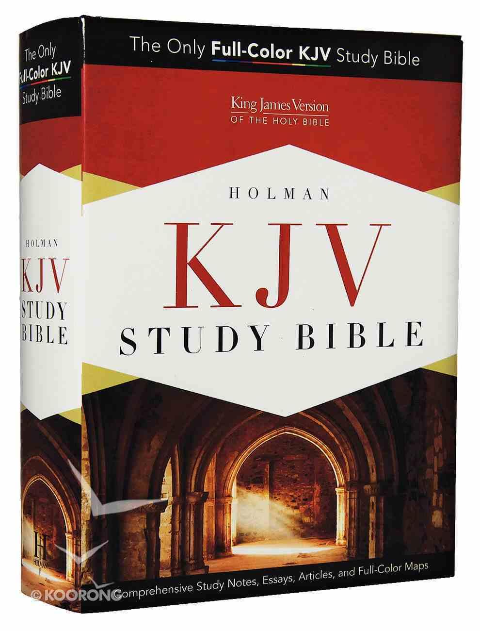 KJV Holman Study Bible (Full Colour) Hardback
