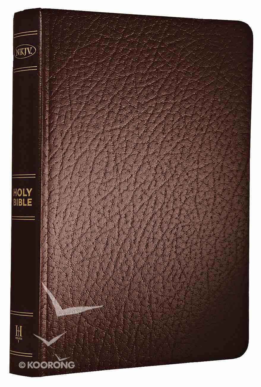 NKJV Gift & Award Bible Brown Imitation Leather
