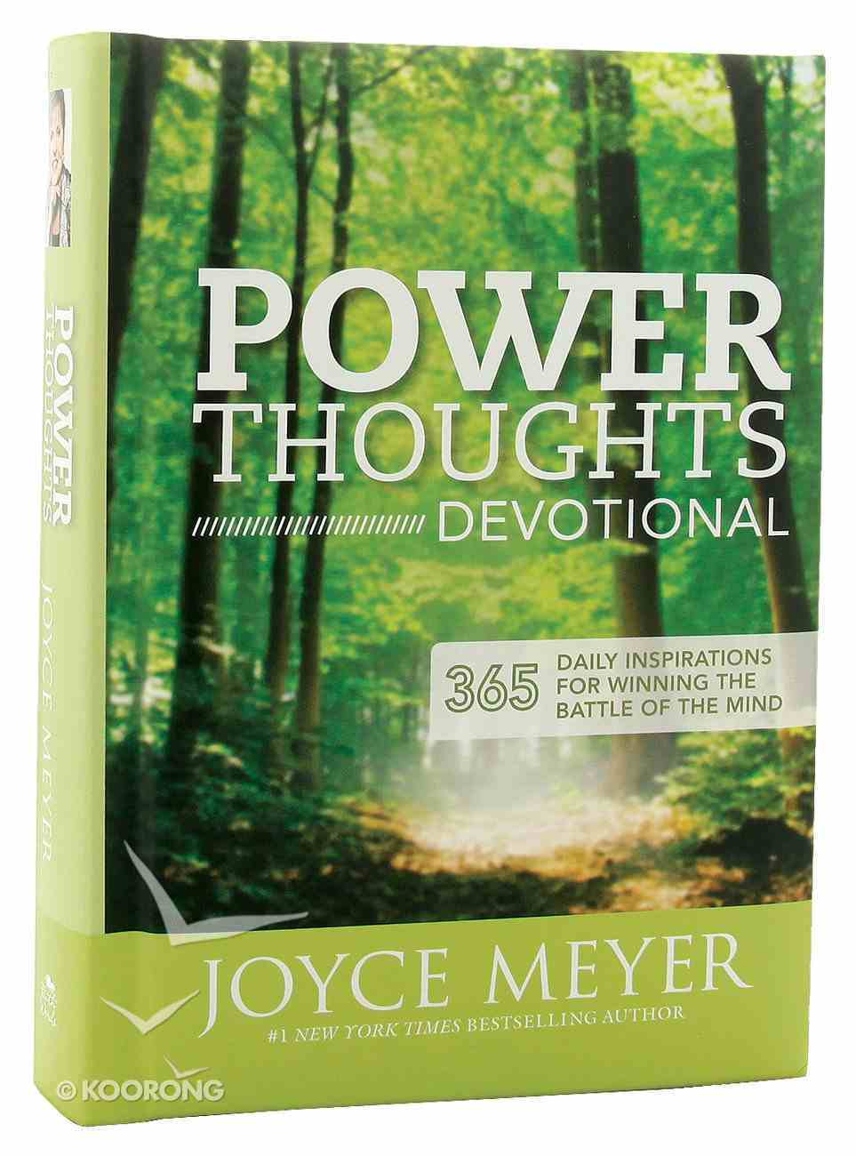 Power Thoughts Devotional Hardback
