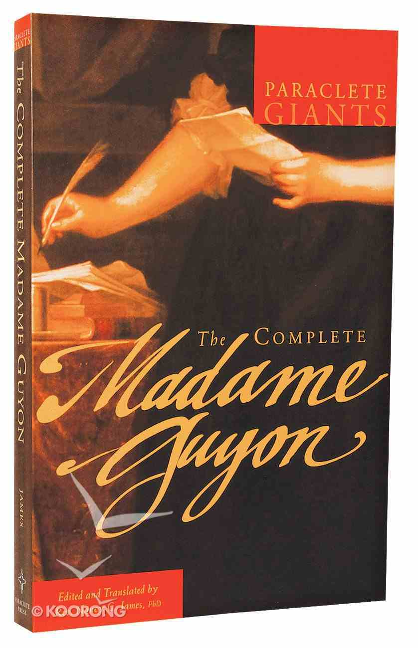 The Complete Madame Guyon (Paraclete Giants Series) Paperback