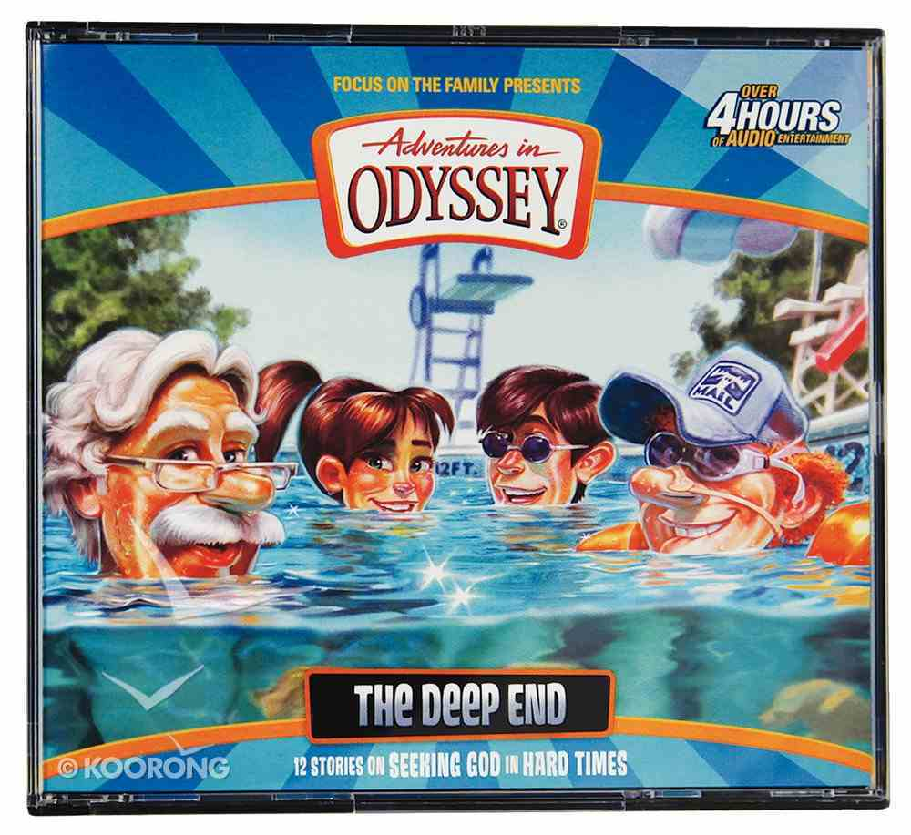 The Deep End (4 CDS) (#55 in Adventures In Odyssey Audio Series) CD