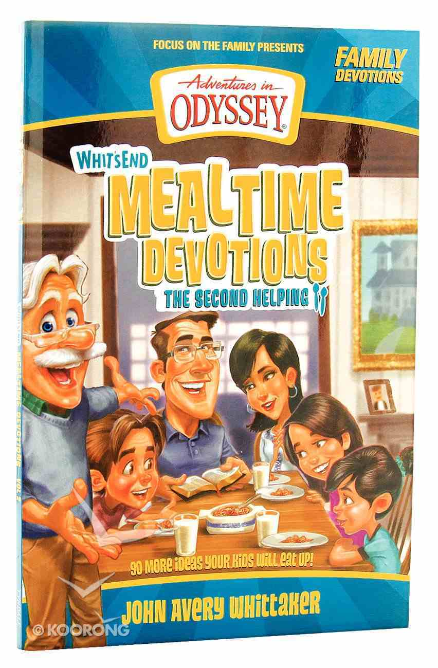 Whit's End Mealtime Devotions (Adventures In Odyssey Imagination Station (Aio) Series) Paperback