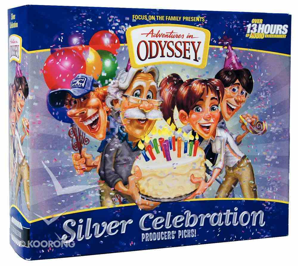 The Silver Celebration (12 CDS) (Adventures In Odyssey Audio Series) CD