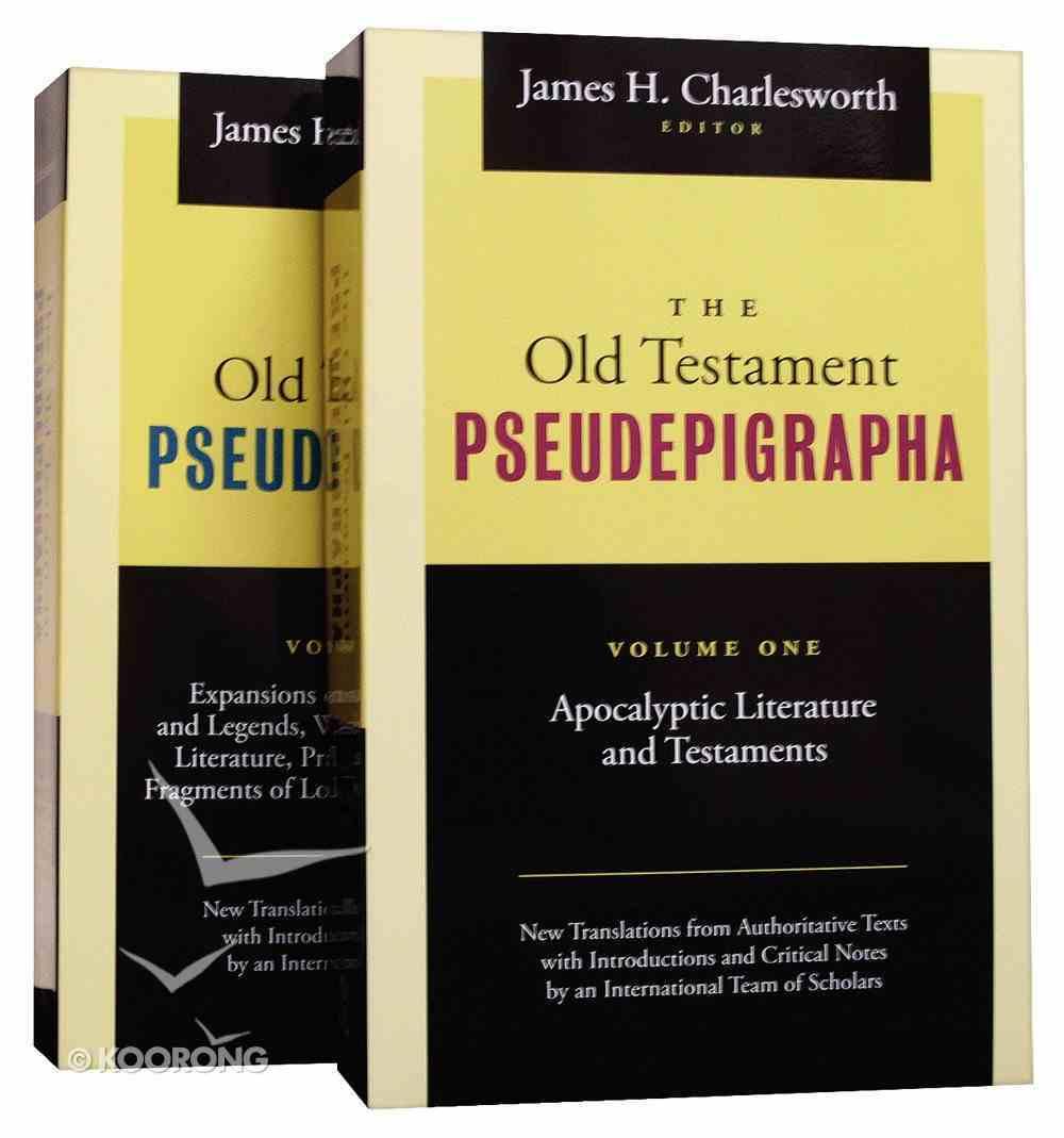 Old Testament Pseudepigrapha 2 Volume Set Paperback