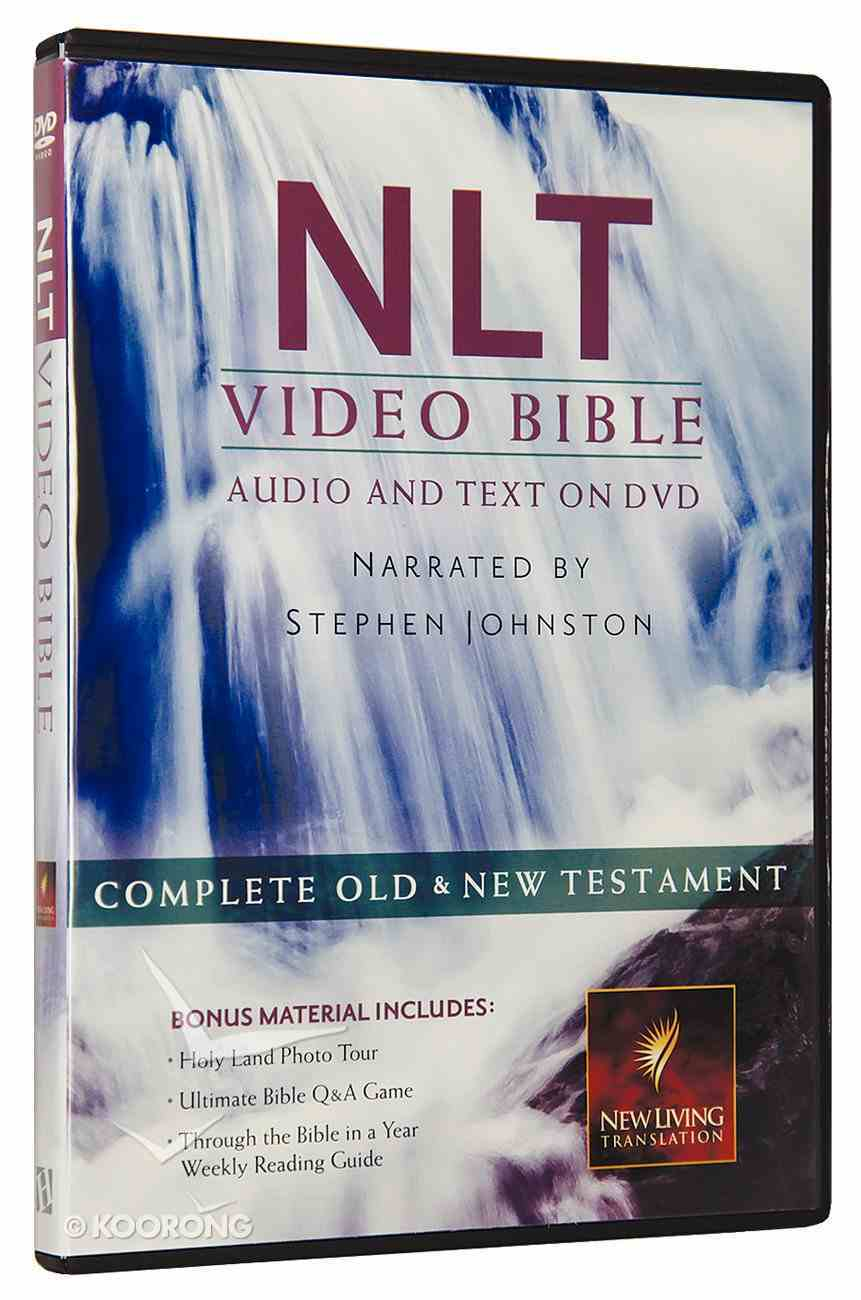 NLT Video Bible Narrated By Stephen Johnston (Audio And Text On Dvd Voice Only) DVD