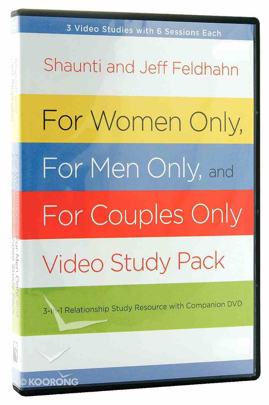 For Women Only and For Men Only: DVD and Participant's Guide (Pack) Pack
