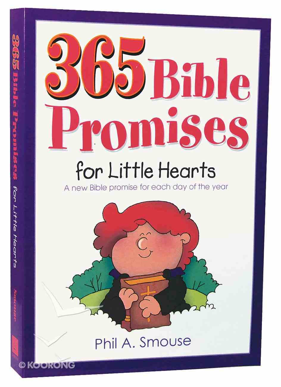 365 Bible Promises For Little Hearts Paperback