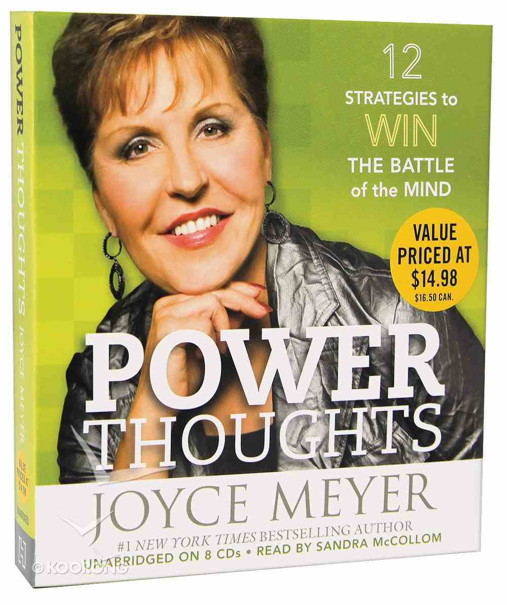 Power Thoughts (Unabridged, 8 Cds) CD