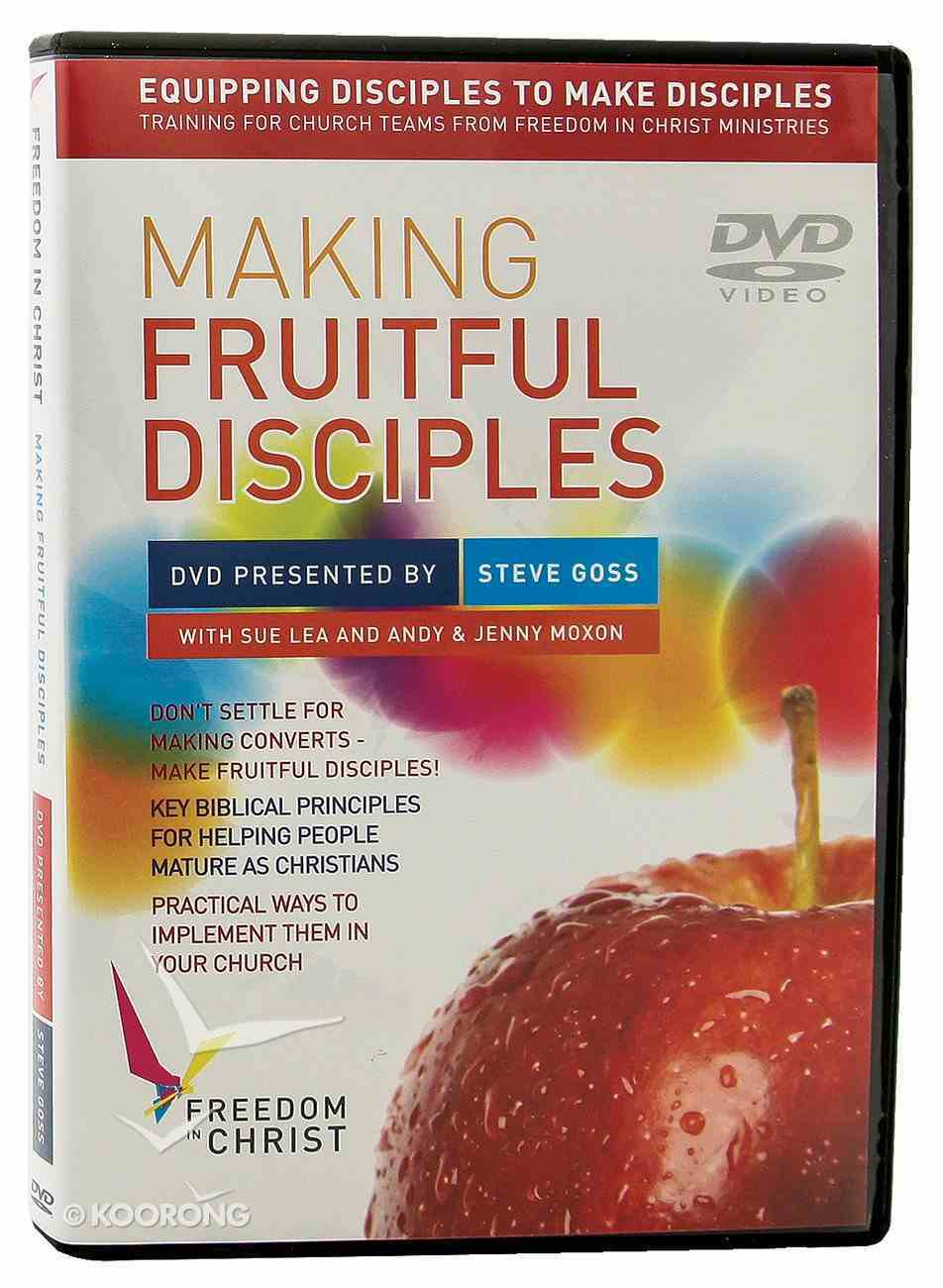 Making Fruitful Disciples DVD (Freedom In Christ Course) DVD
