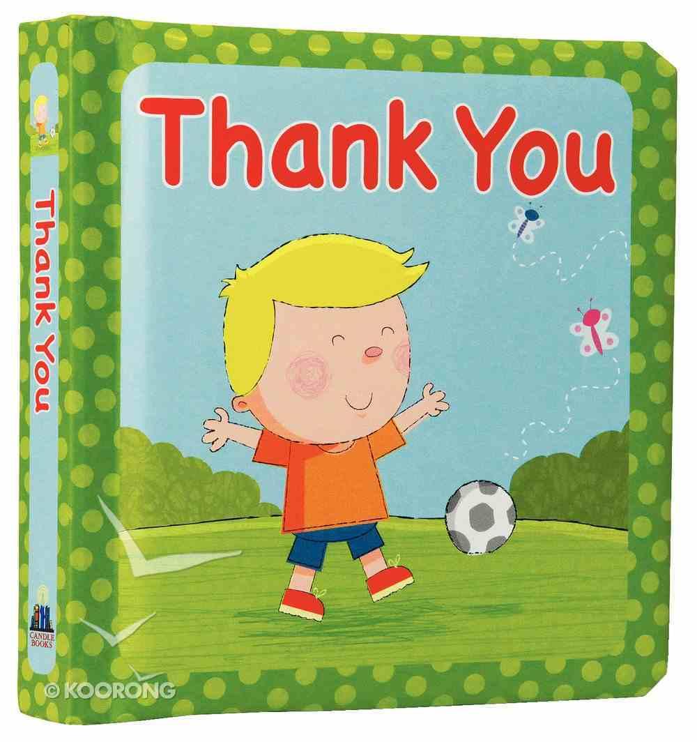 Thank You Board Book