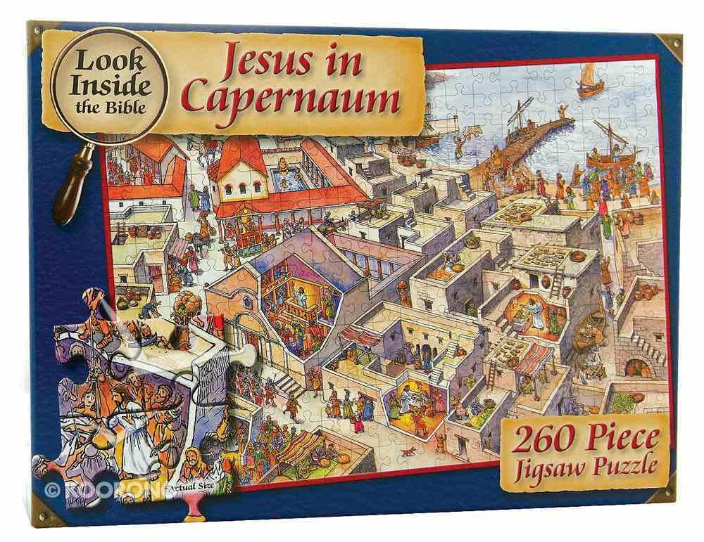 Look Inside Capernaum Jigsaw (260 Pieces) Game