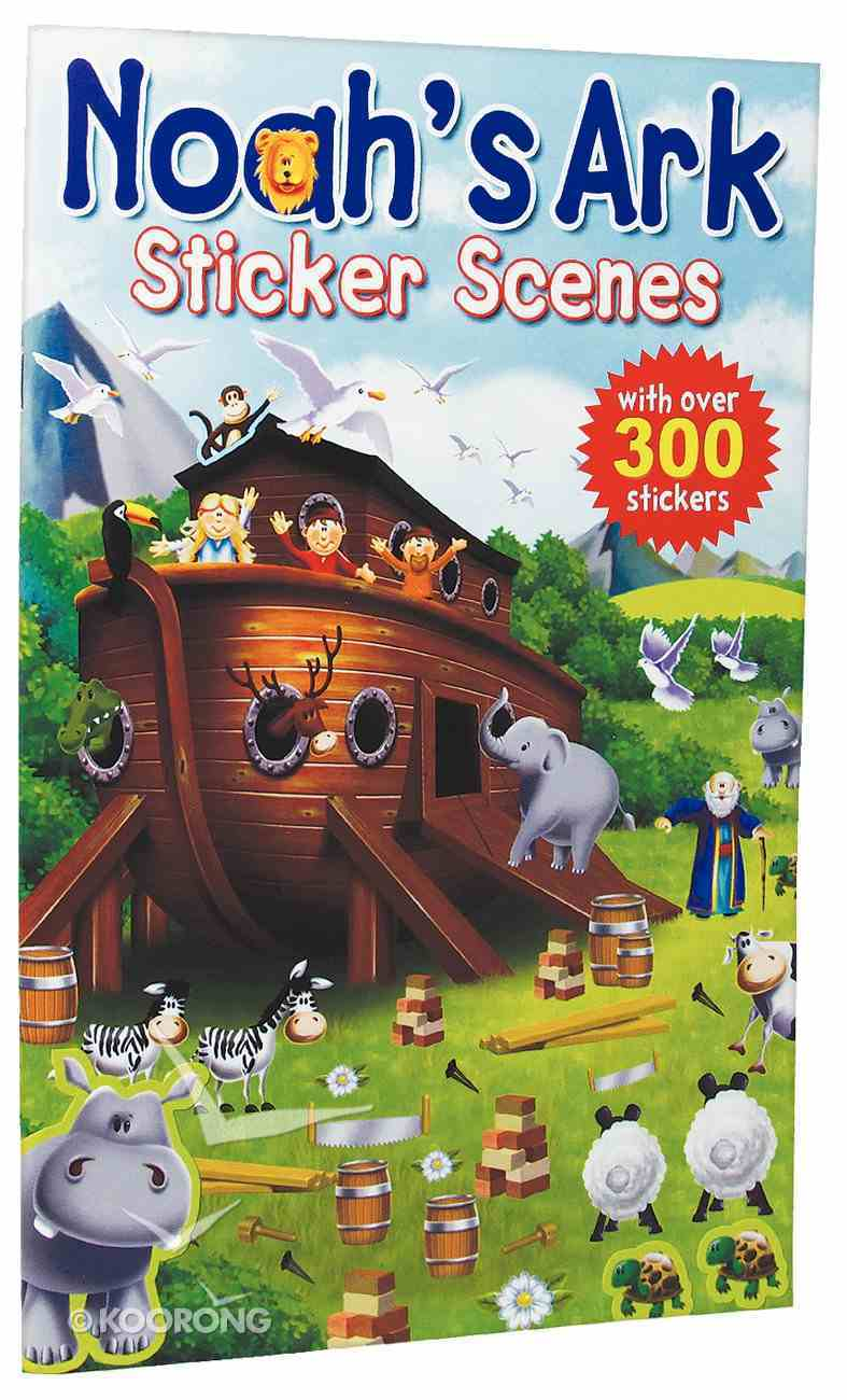 Noah's Ark (Candle Sticker Scenes Series) Paperback