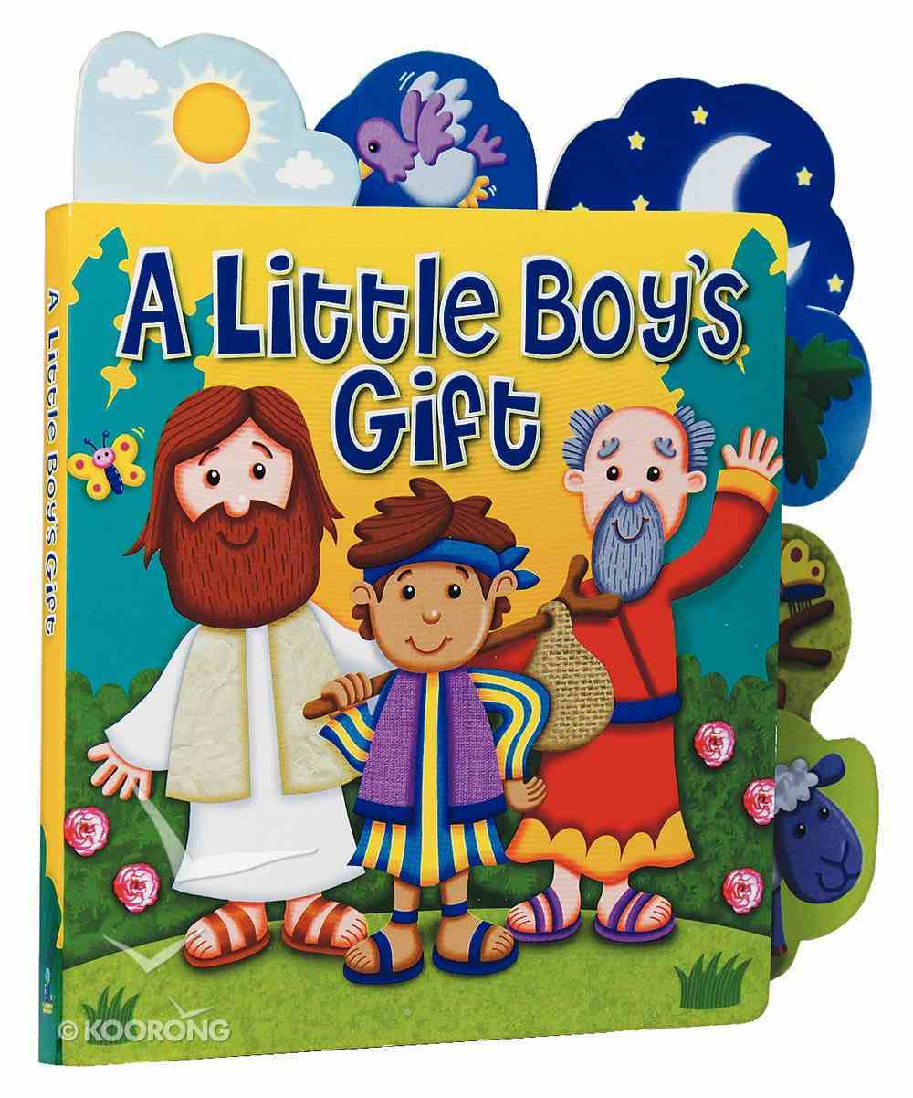 Little Boy's Gift (Candle Little Tabs Series) Board Book