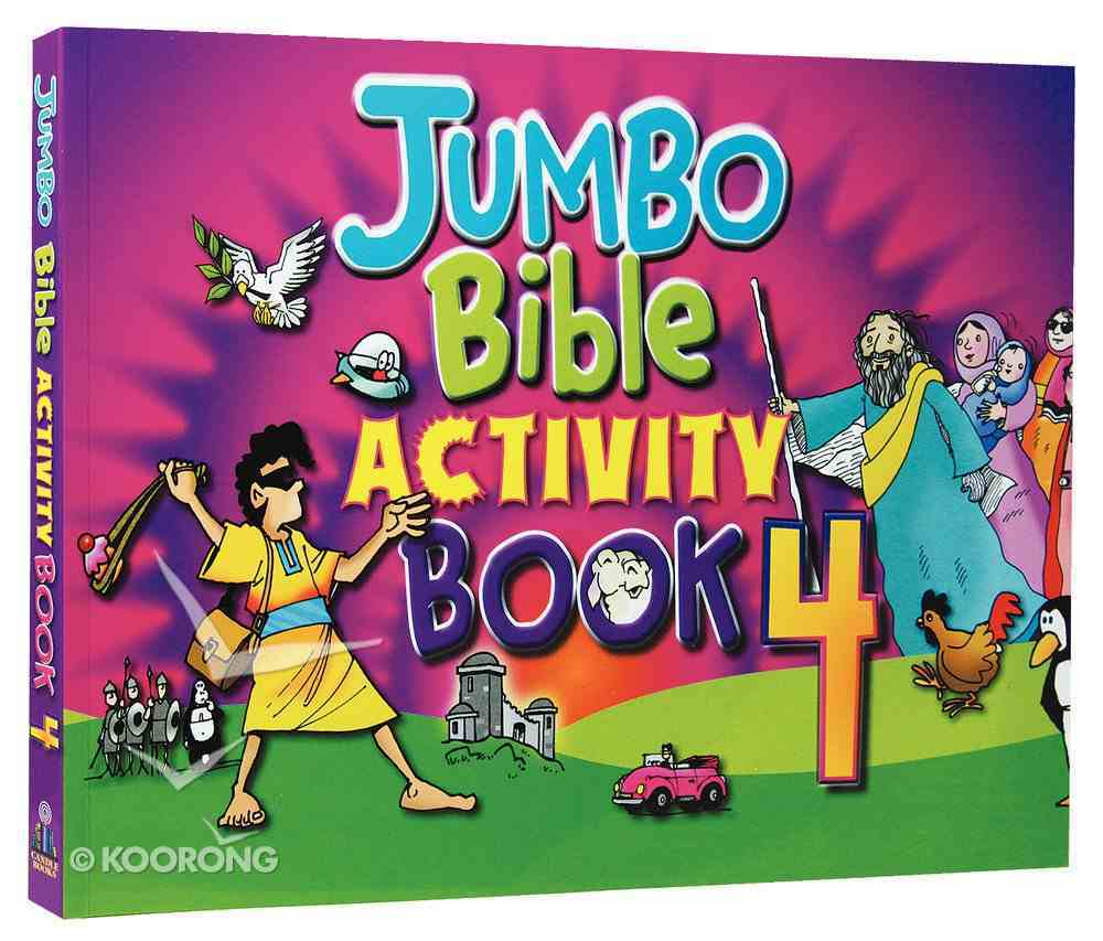 Jumbo Bible Activities Book 4 Paperback
