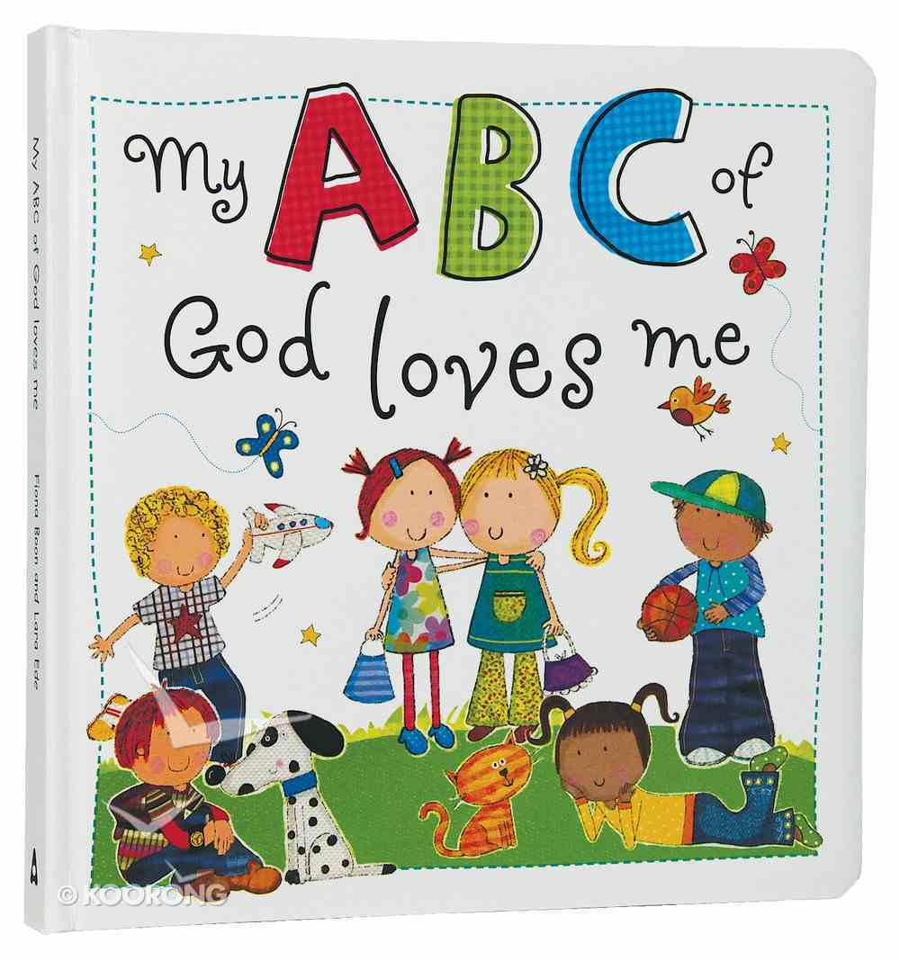 My ABC of God Loves Me Padded Board Book